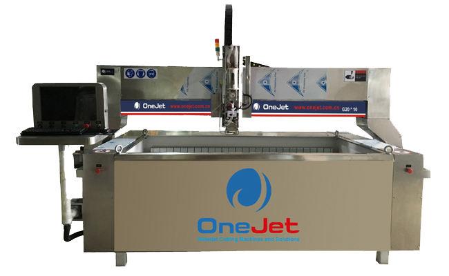 G2010 waterjet cutting machine, waterjet, abrasive waterjet