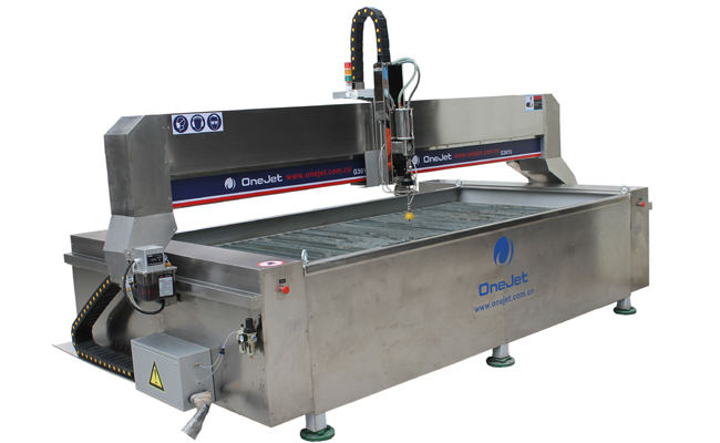 Onejet waterjet cutting machine, waterjet, water jet cutting